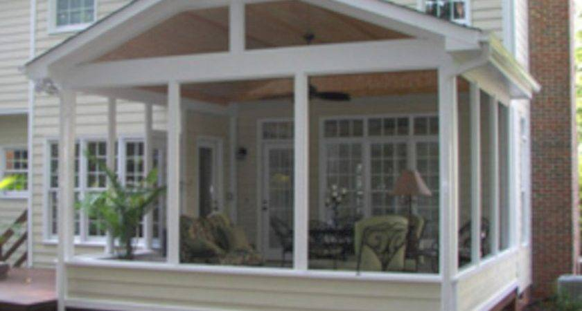 Wonderful Screened Porch Deck Idea Futurist