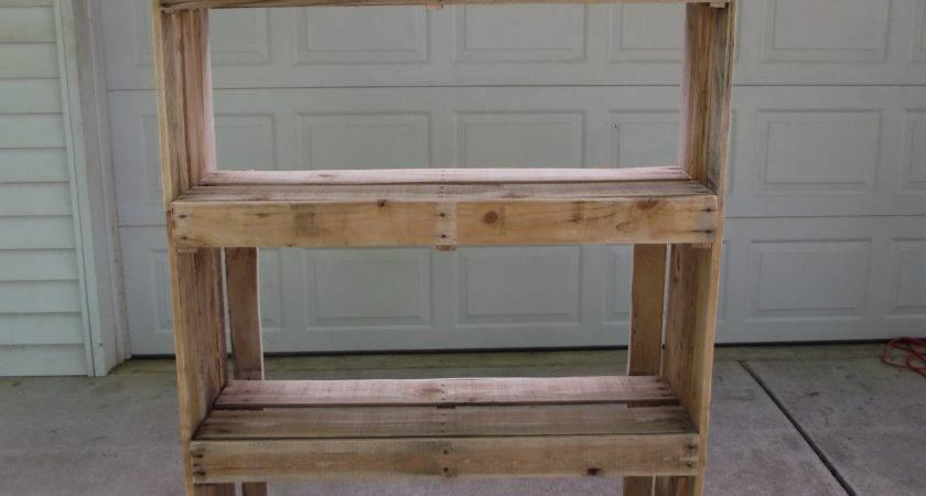 Wonderful Shelves Pallets Diy Photos Simple Design Home