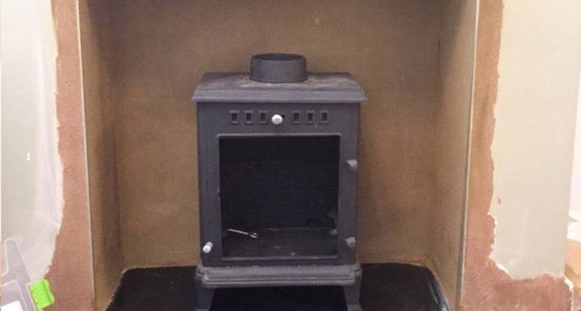 Wood Burning Stove Installation Step