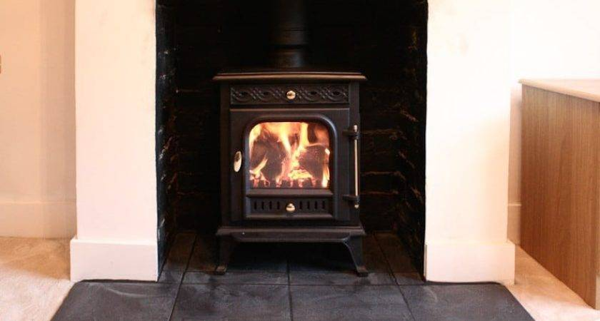 Wood Burning Stove Installed November Swept Away