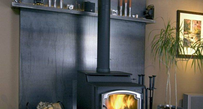 Wood Burning Stove Tile Surround Ideas Google Search