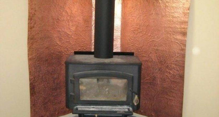 Wood Burning Stove Wall Protection April Piluso