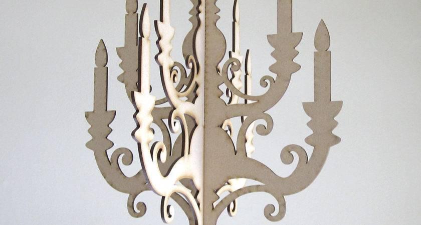 Wood Chandelier Diy Chandeleir Hanging Nursery