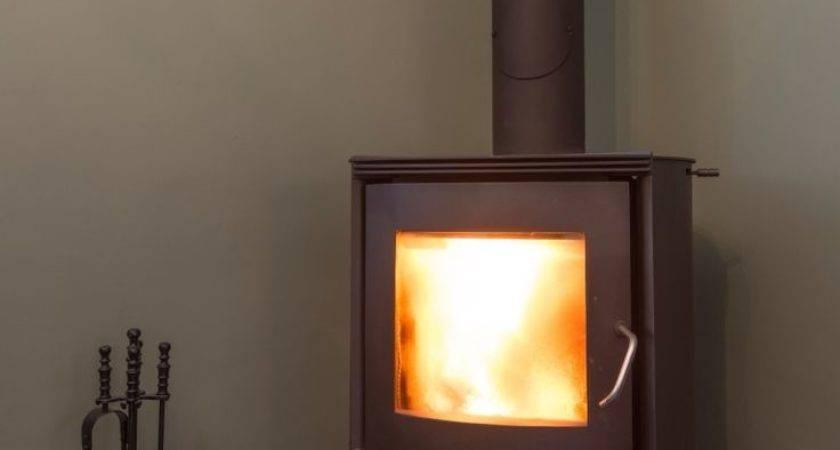 Wood Corner Burning Stove