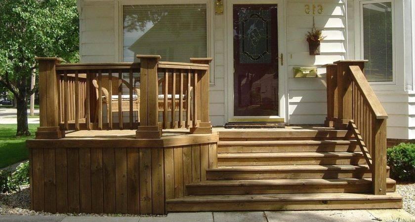 Wood Front Porches Designs