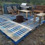 Wood Pallet Deck Plans Furniture Projects