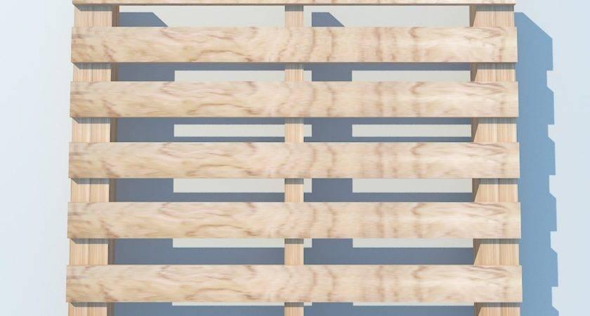 Wood Pallet Max Model Obj Fbx