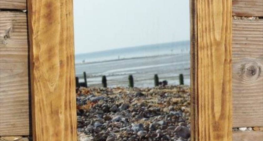 Wood Pallet Mirror Frame Pallets Designs