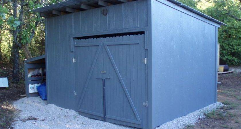 Wood Pallet Shed Project