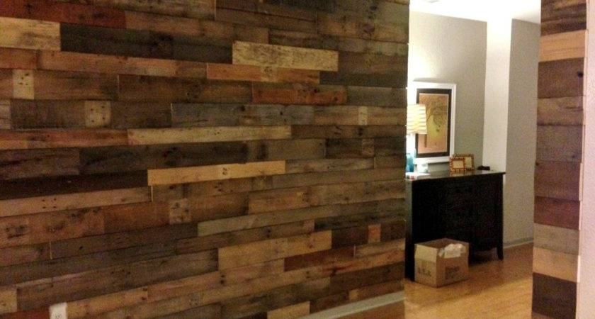 Wood Pallet Wall Decor Crustpizza