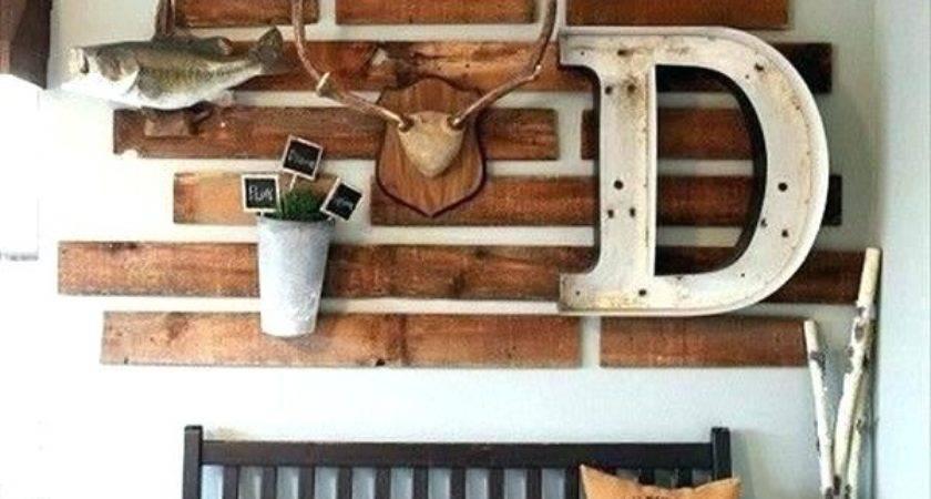 Wood Pallets Decor Extraordinary Pallet Wall