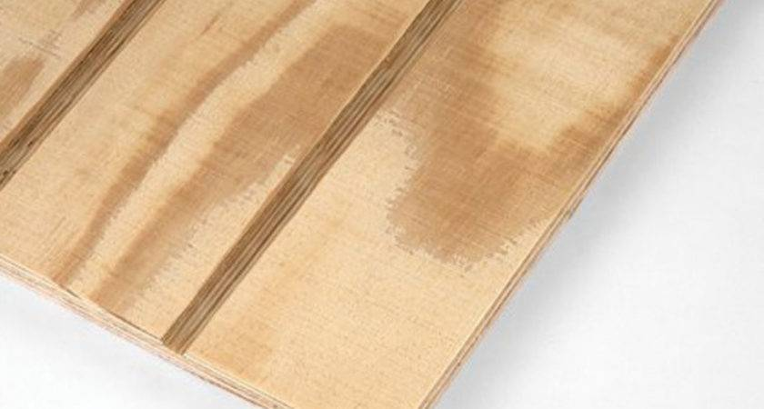 Wood Panel Siding Installation