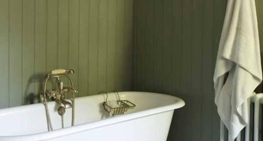 Wood Panelling Bathroom Design Ideas