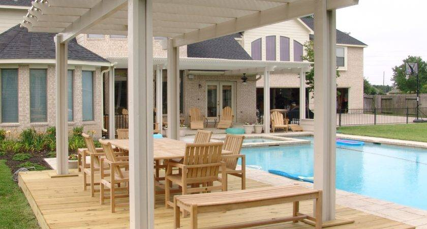 Wood Patio Covers Texas