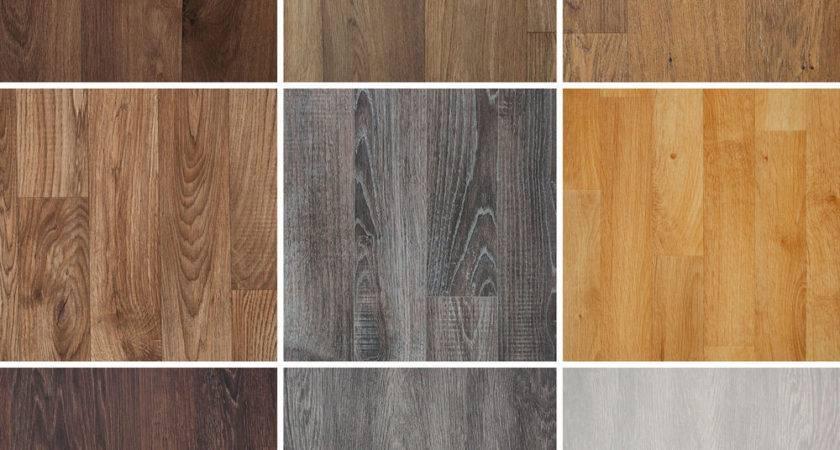 Wood Plank Grain Effect Vinyl Flooring Quality Lino