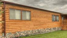 Wood Siding Mobile Home