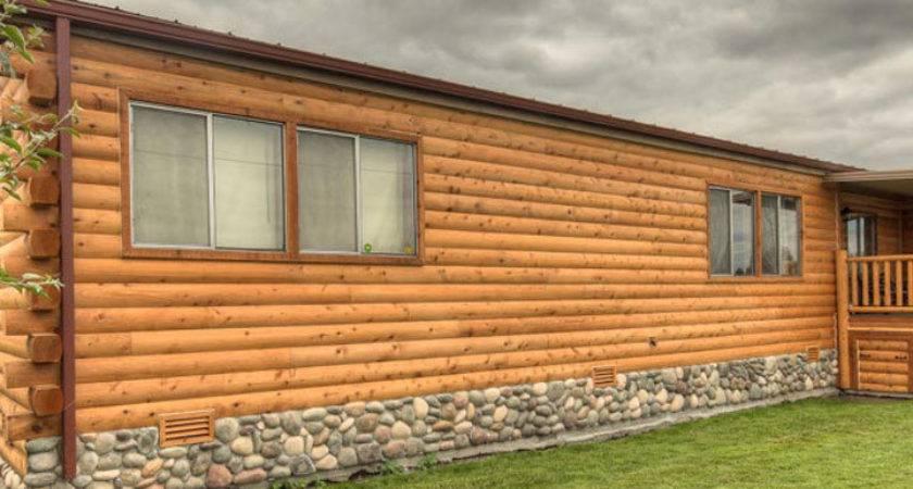 Wood Siding Mobile Home