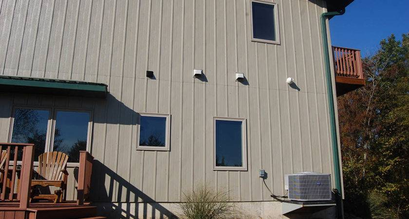 Wood Siding Vertical Installation
