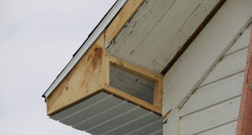 Wood Soffit Fascia Boards Repair Rotted