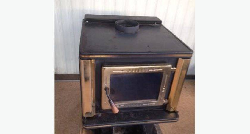 Wood Stove Also Mobile Home Like New Outside