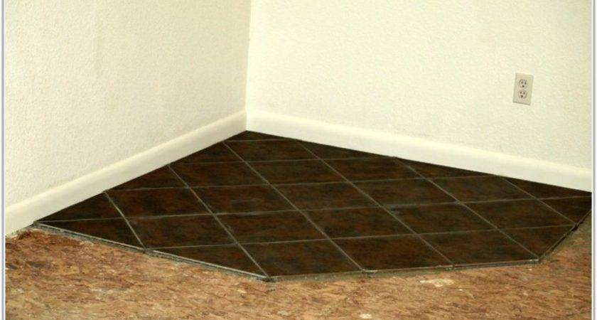 Wood Stove Floor Protection Flooring Home Decorating