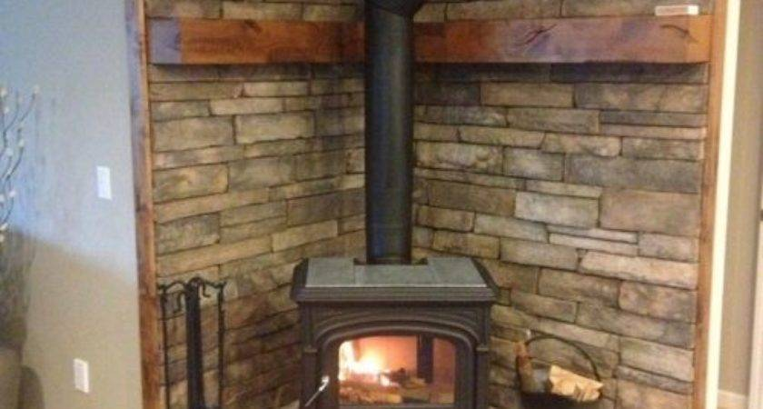 Wood Stove Hearth Ideas Remodel Decor