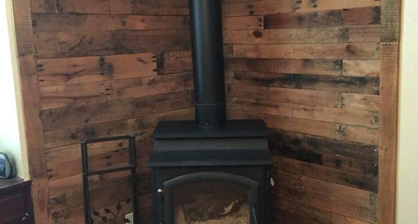 Wood Stove Wall Design Ideas Video Photos