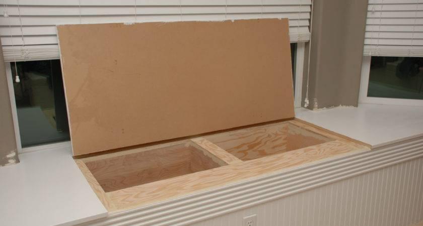 Wooden Build Window Seat Open Storage Pdf Plans