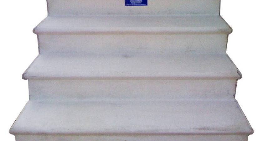 Wooden Concrete Fiberglass Steps Mobile Homes