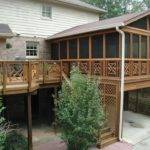 Wooden Covered Deck Designs Doherty House Build