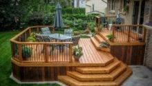 Wooden Deck Designs Pinterest Decks