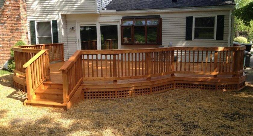 Wooden Deck Skirting Ideas Doherty House Metal