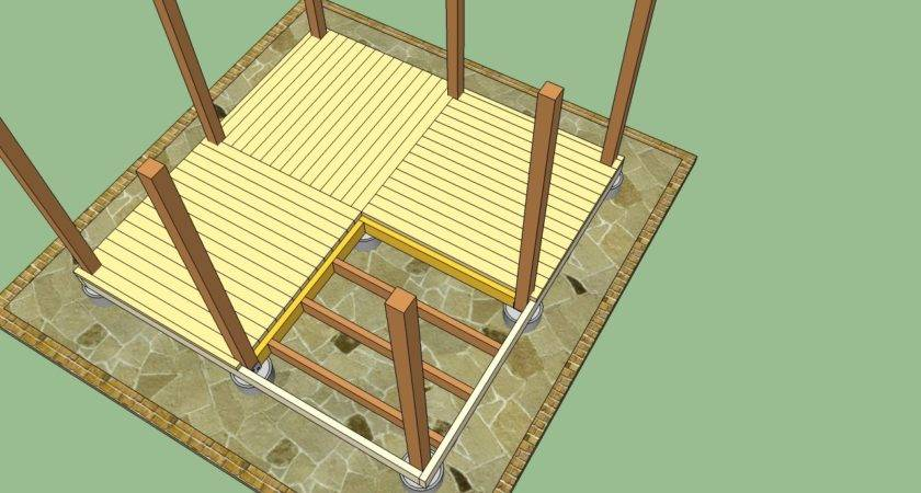 Wooden Decking Plans