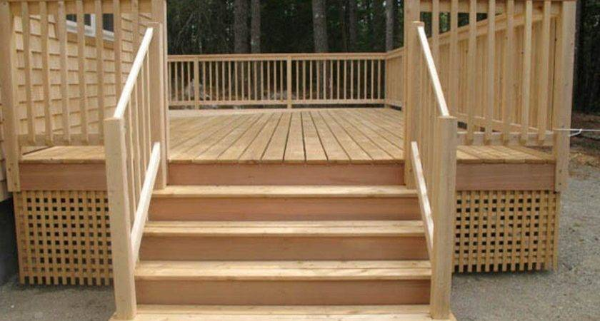 Wooden Handrails Deck Founder Stair Design Ideas