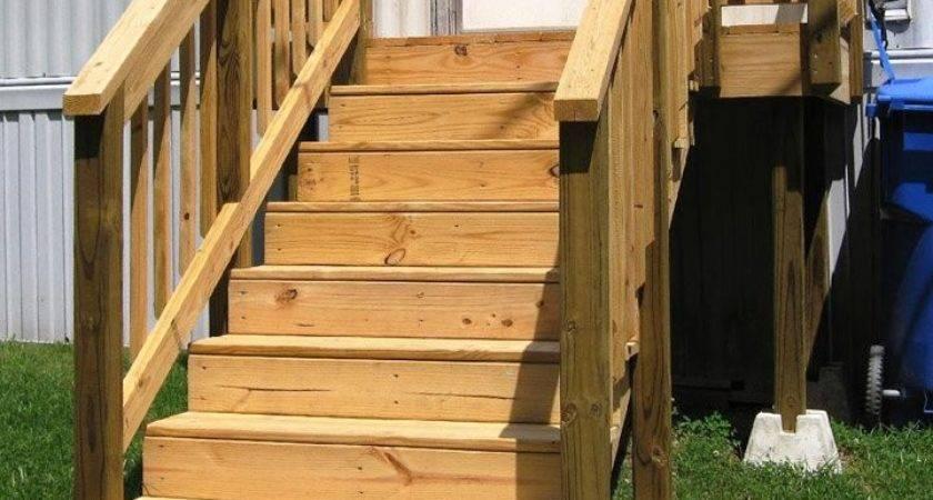 Wooden Mobile Home Steps Nhl Trader