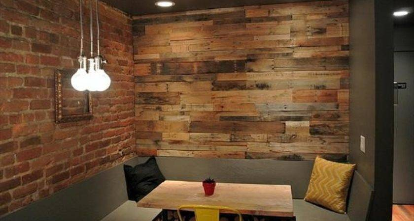Wooden Pallet Accent Wall Decor Ideas Pallets Designs