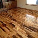 Wooden Pallet Flooring Stylish Way Living