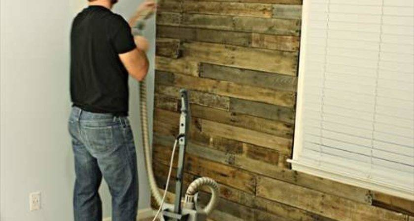 Wooden Pallet Plank Wall Ideas Pallets Designs