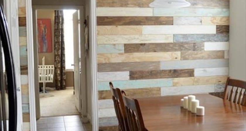 Wooden Pallet Plank Wall Ideas Pallets Designs
