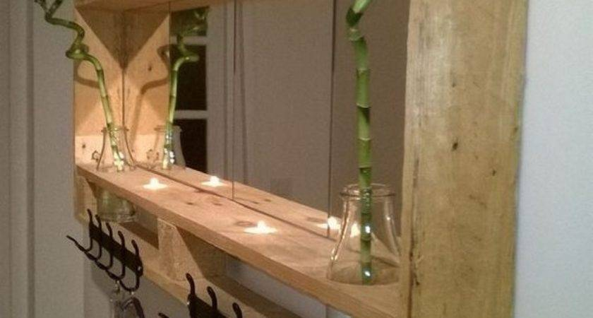 Wooden Pallet Shelving Ideas Recycled