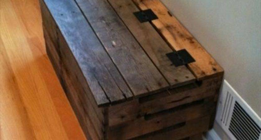 Wooden Pallet Trunk Ideas Diy Pallets Designs