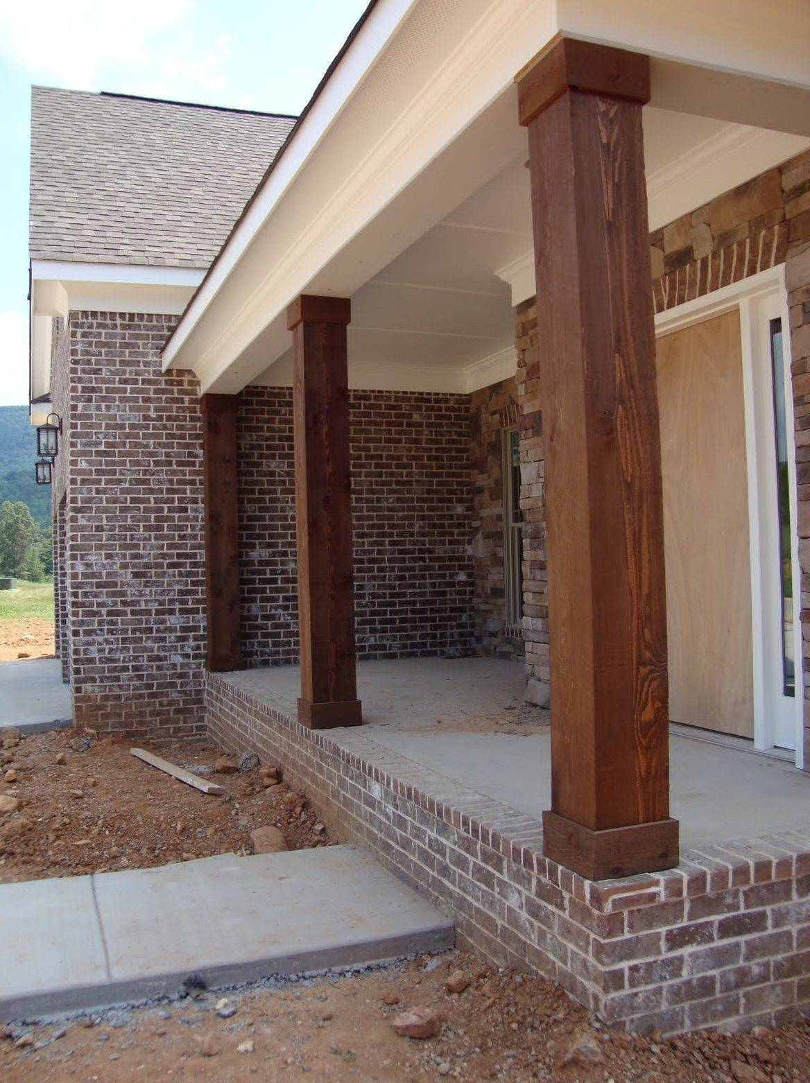 Colonial Porch Posts