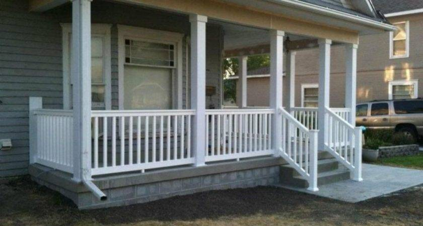 Wooden Porch Railing Designs Jbeedesigns Outdoor Good