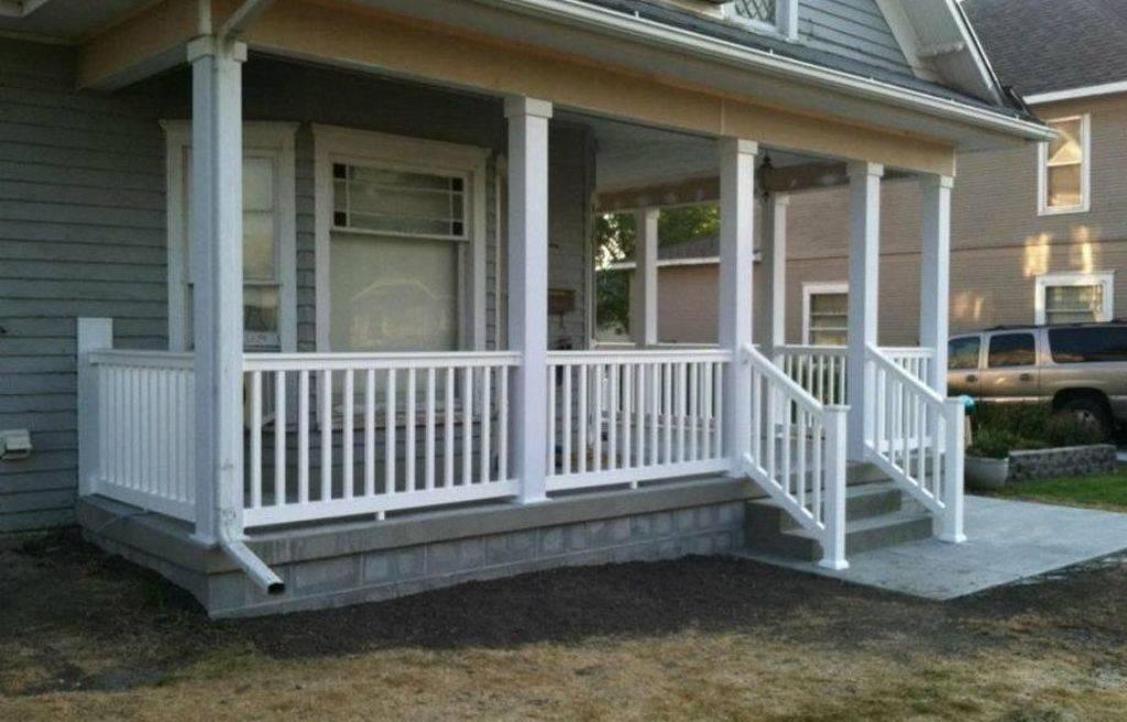 Wooden Porch Railing Designs Jbeedesigns Outdoor Good ...