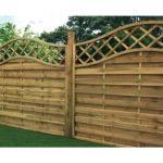 Wooden Vinyl Fence Panels Design Ideas Creating