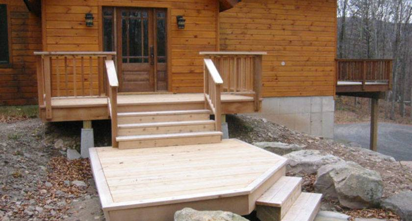 Woodstock Mountain Homes Decks