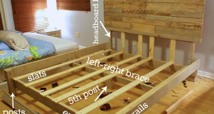 Woodwork Build Wood King Bed Frame Pdf Plans