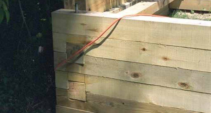 Woodworking Plans Wood Retaining Wall Construction Pdf