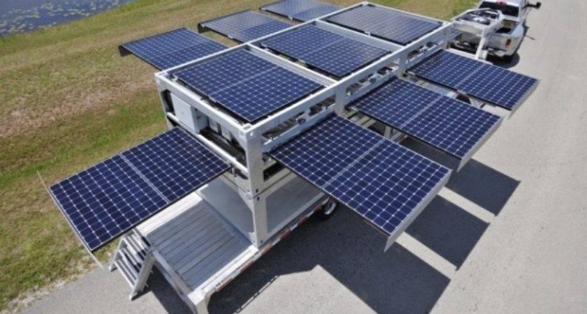 World Largest Mobile Solar Powered Generator