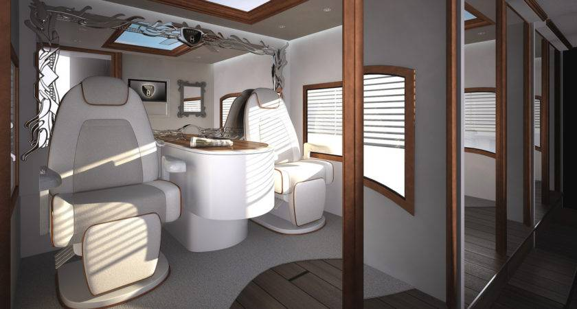 World Most Expensive Motor Home Includes Rooftop